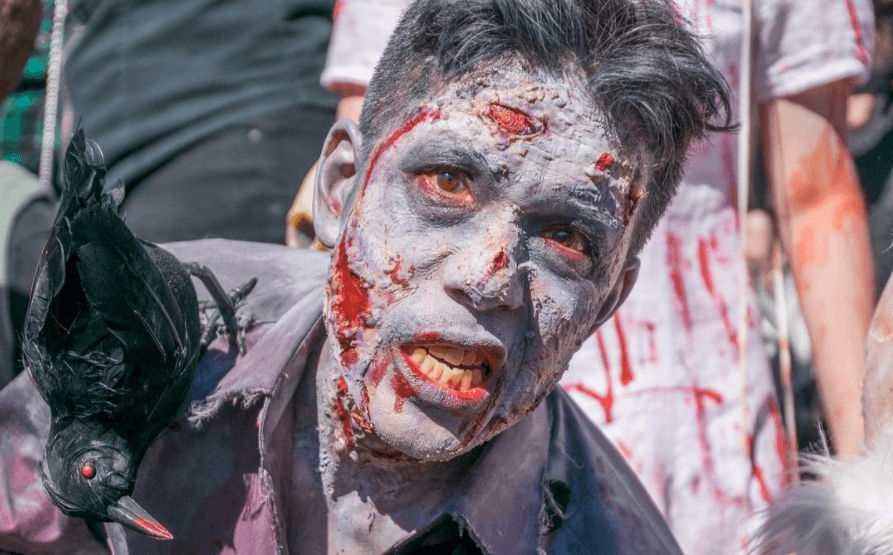 22 gruesome photos of Vancouver's Zombie Walk 2017