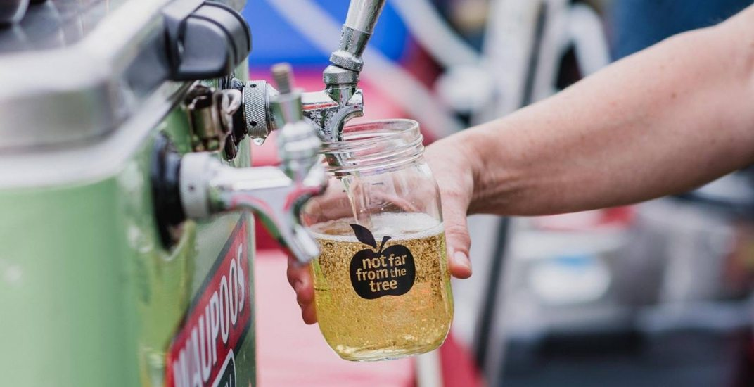 This annual event is turning fruit from around the city into delicious cider