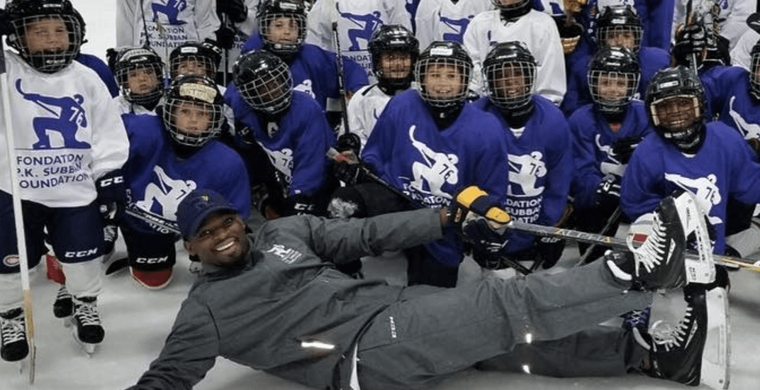 PK Subban is back on the ice in Montreal (PHOTOS)