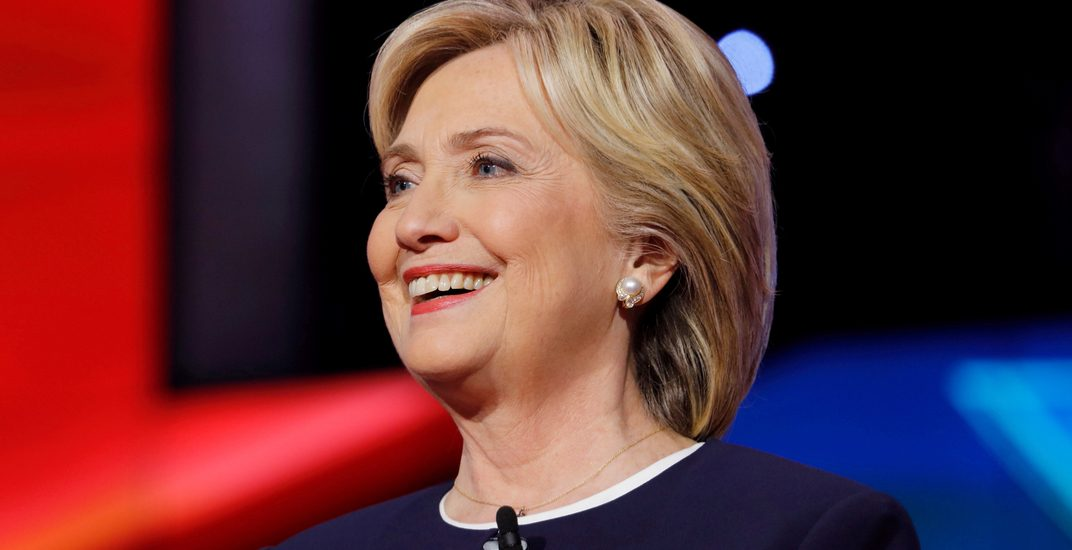 Hillary Clinton is coming to Montreal to promote her upcoming book