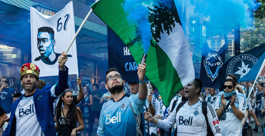 I went to a Whitecaps game with the Southsiders, here's what happened