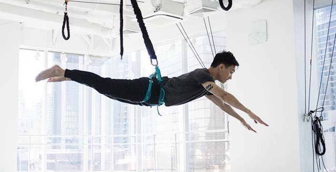 A bungee workout gym is coming to Calgary