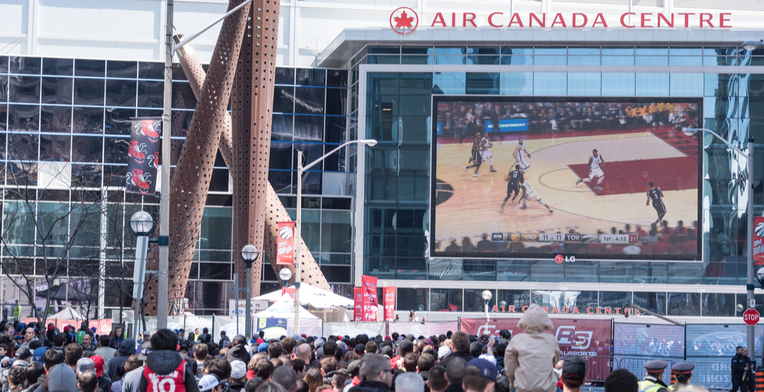 The Internet is not happy about the Air Canada Centre's name change