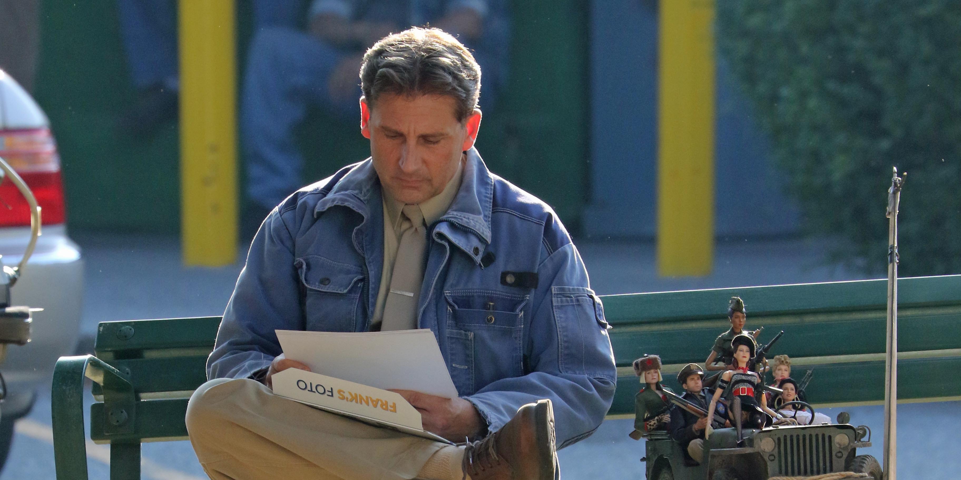 Steve Carell spotted filming in Vancouver (PHOTOS)