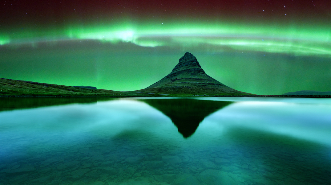 You can see the Northern Lights in Iceland for $320 return next month