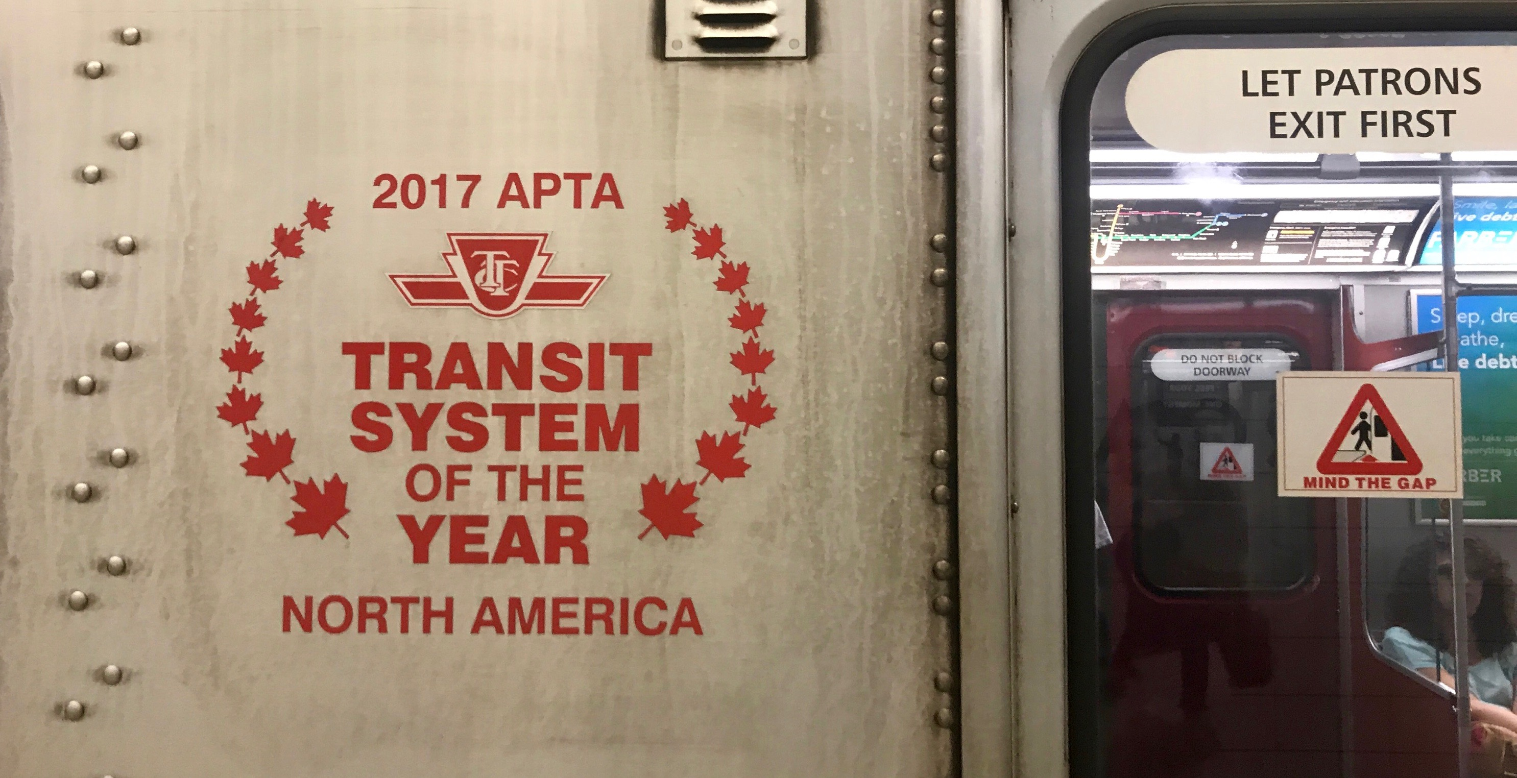 TTC spending $50K on decals for vehicles to show off recent award