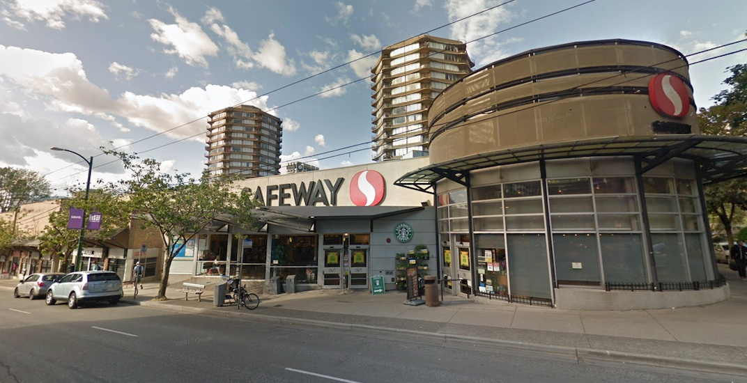 Safeway on Davie Street closing this week for redevelopment
