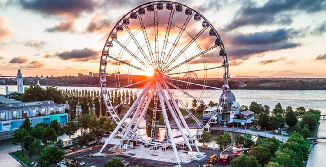You can ride Montreal's giant Ferris wheel for free tomorrow