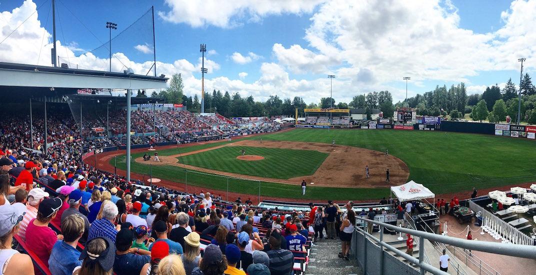 Vancouver canadians nat bailey stadium