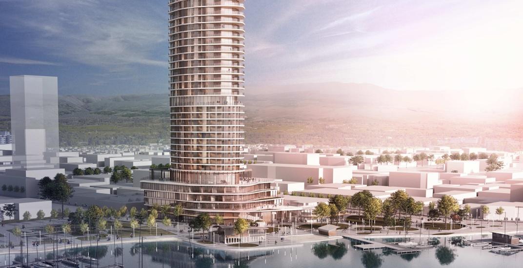 Major luxury urban resort planned for downtown Kelowna