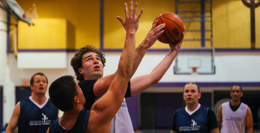 Watch the city's law firms battle it out on the basketball court in aid of local charities