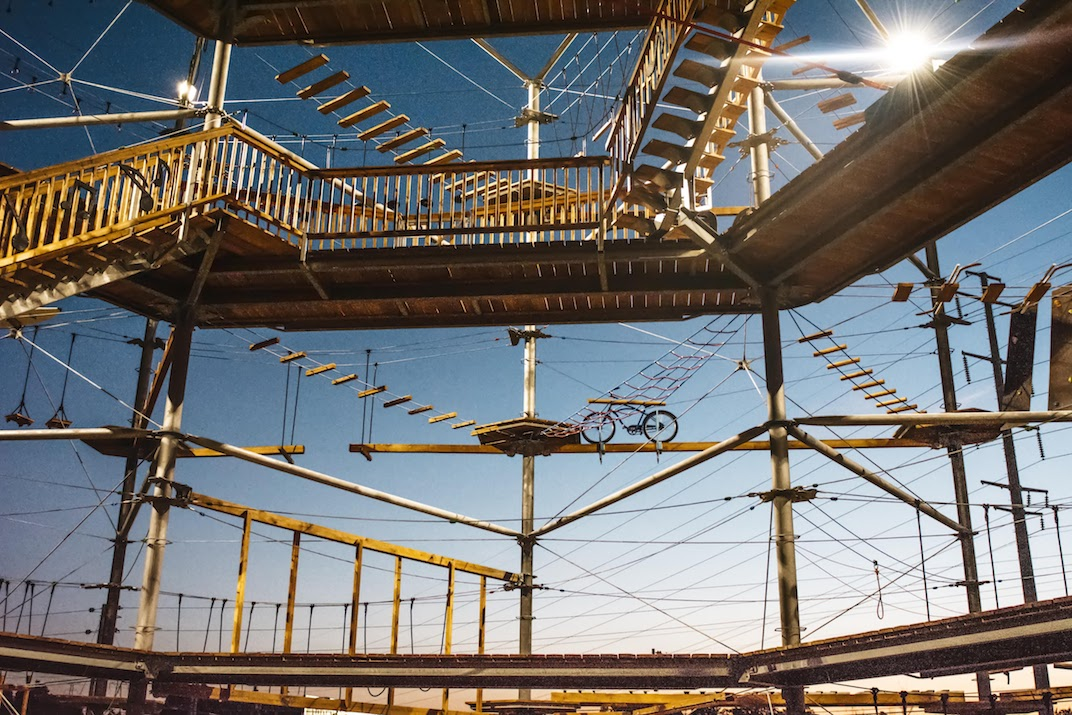 Massive rope running \'aerial adventure park\' opening in Squamish ...