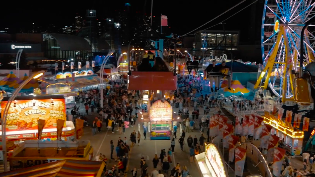 This vid perfectly captures the magic of the CNE at night (VIDEO)
