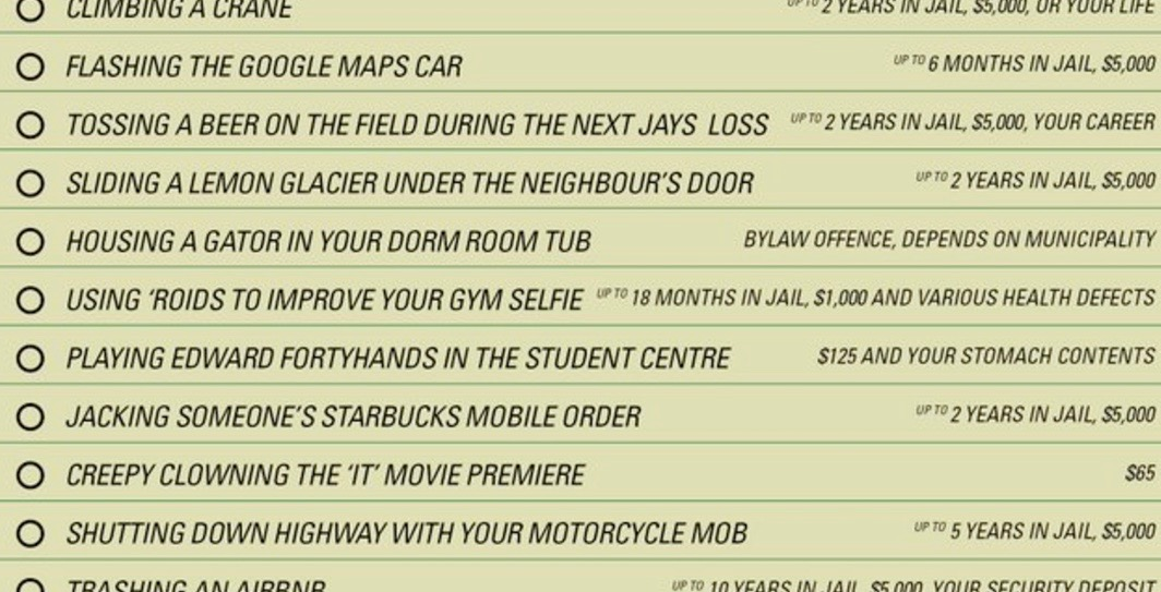 York Regional Police break down the cost of stupid frosh week decisions
