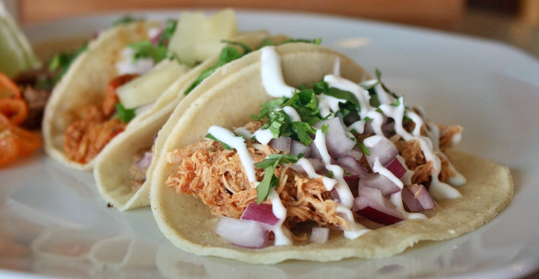 This new taco joint in Downtown Vancouver offers 4 authentic tacos for $10
