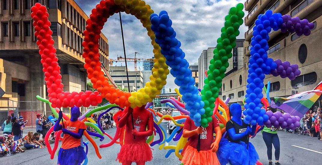 Calgary pride parade 2017