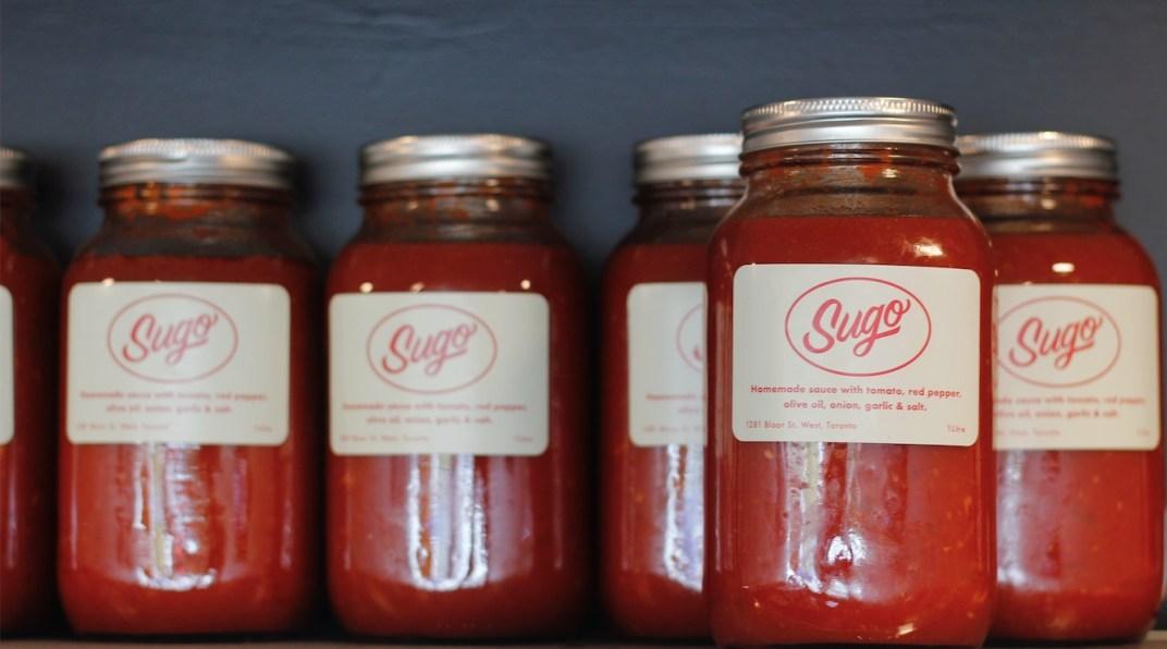 Sugo toronto Italian restaurant red sauce tomato