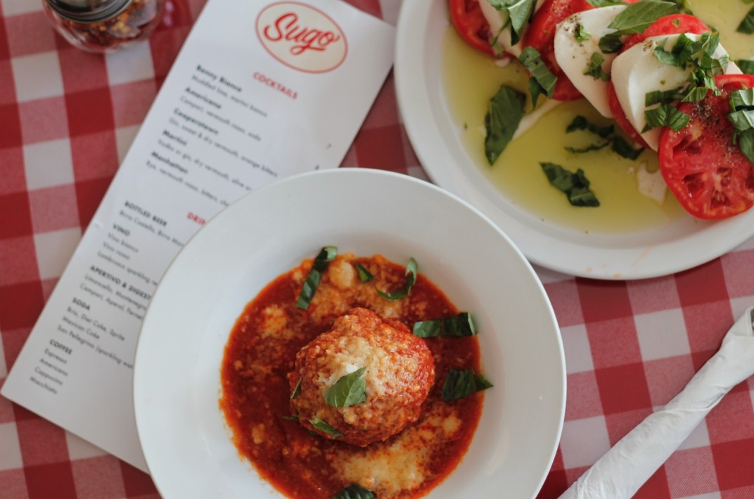 Sugo toronto Italian restaurant meatball