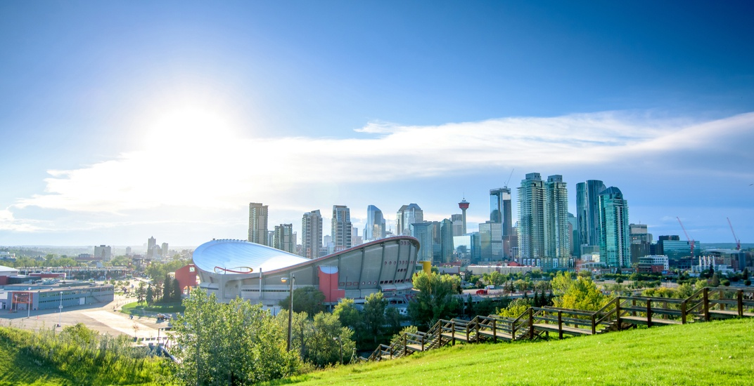 It's going to be hot in Calgary this week before it cools down over the weekend