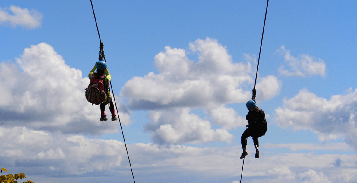 This spectacular half-mile long zip line is just 2 hours outside of Toronto (PHOTOS)