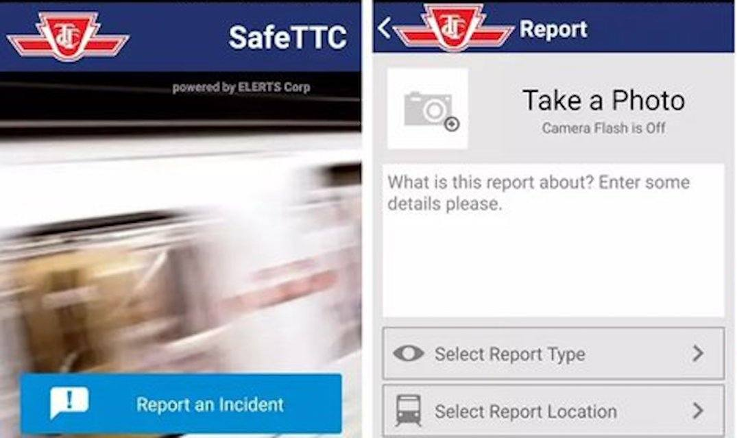 TTC launches new 'safe' app for incident reporting