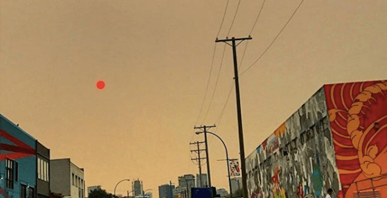Through the haze: 21 photos of Vancouver's red-orange sun