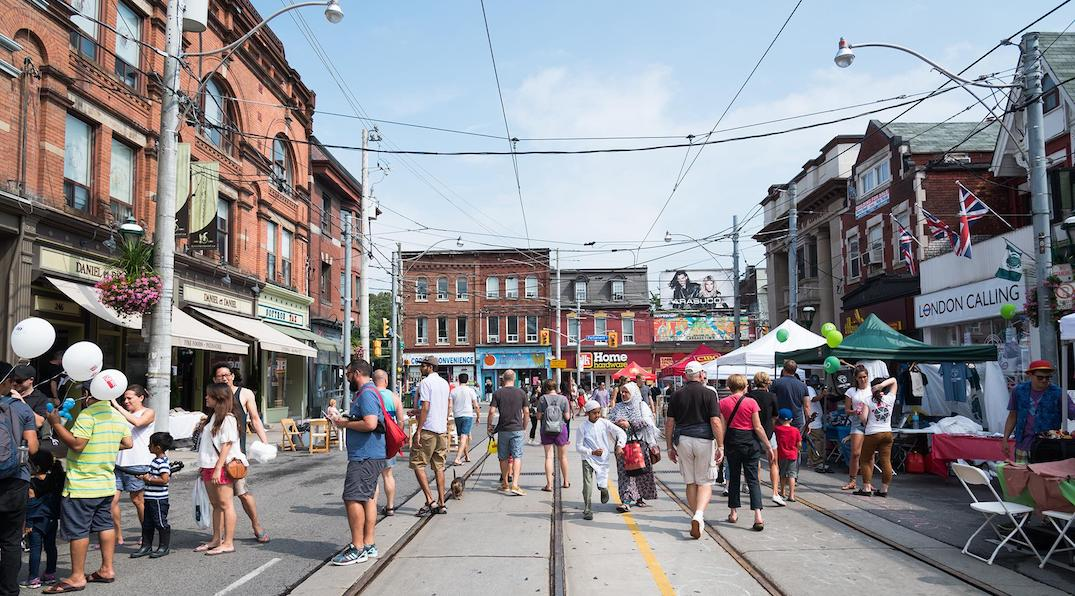There's a massive street festival in Cabbagetown this weekend