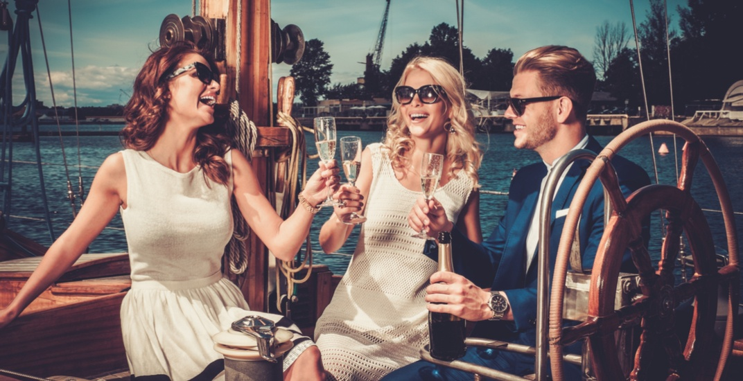 Wealthy friends on yacht nejron photoshutterstock
