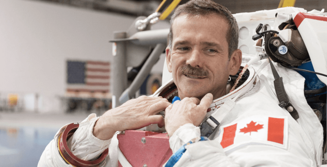 Chris Hadfield Vancouver 2017 show at Orpheum Theatre this October