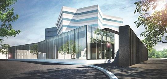 Vendôme entrance building