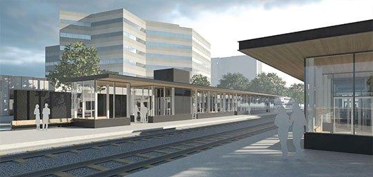 Vendôme commuter train station