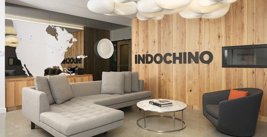Indochino headquarters reception