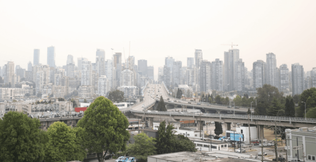 Air quality advisory issued for parts of Metro Vancouver and Fraser Valley