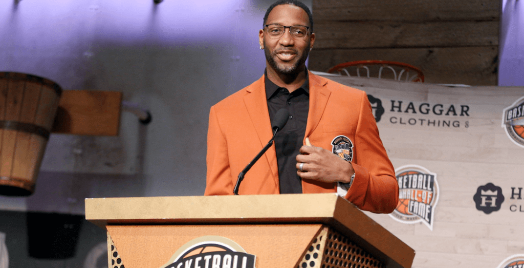 Tracy McGrady shows love for Toronto before Hall of Fame induction (VIDEO)