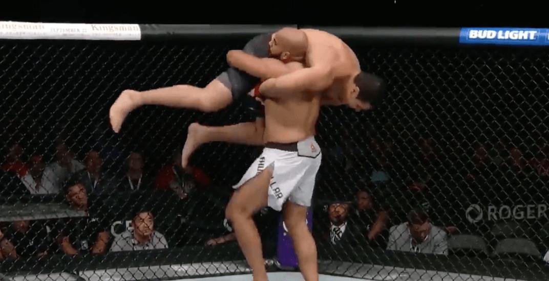 Canadian Arjan Bhullar makes history, wins debut UFC fight