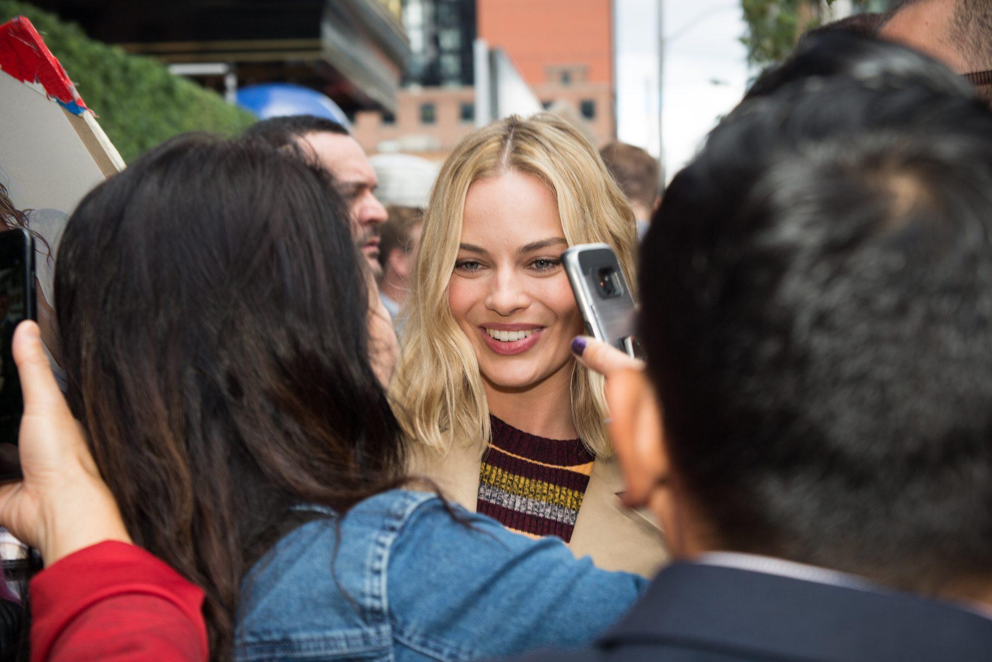 TIFF 2017 celebrity Margot Robbie