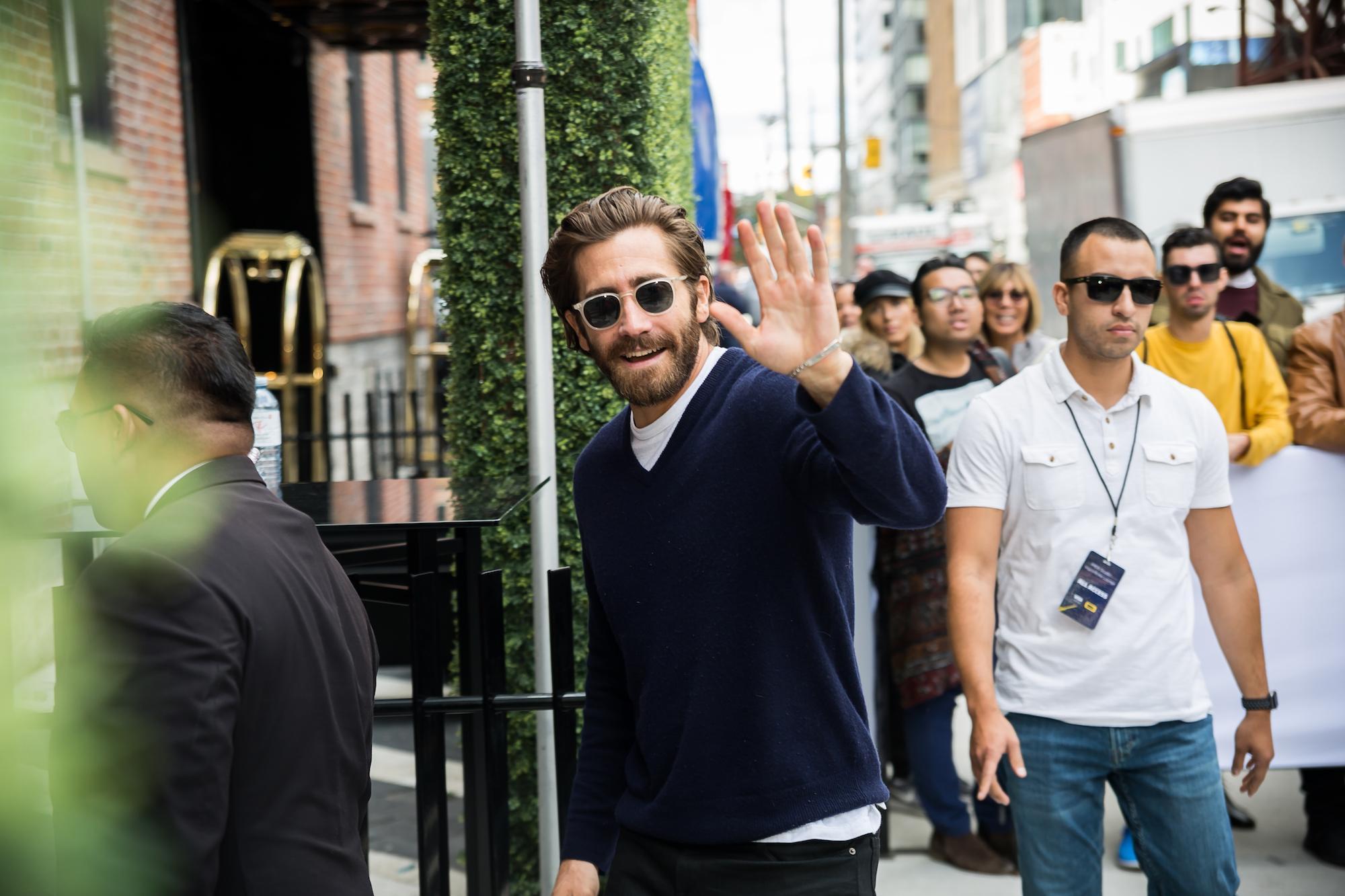 TIFF 2017 celebrity Jake Gyllenhal