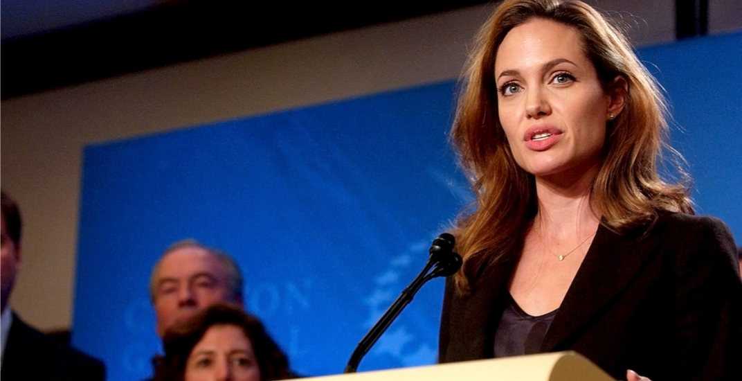 Justin Trudeau and Angelina Jolie to speak in Toronto today