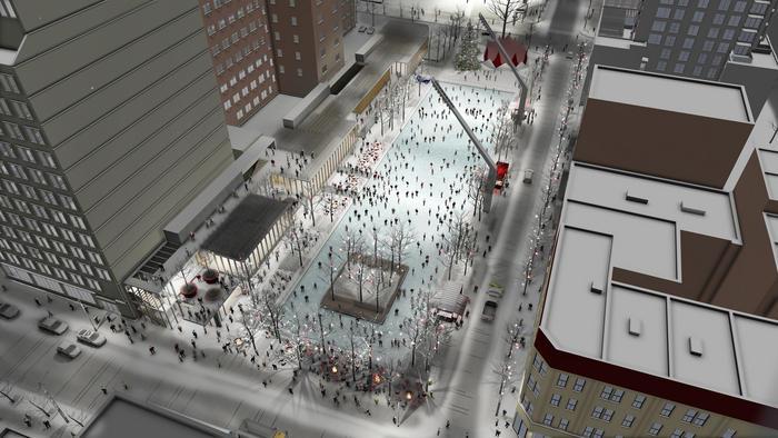Clark Esplanade project