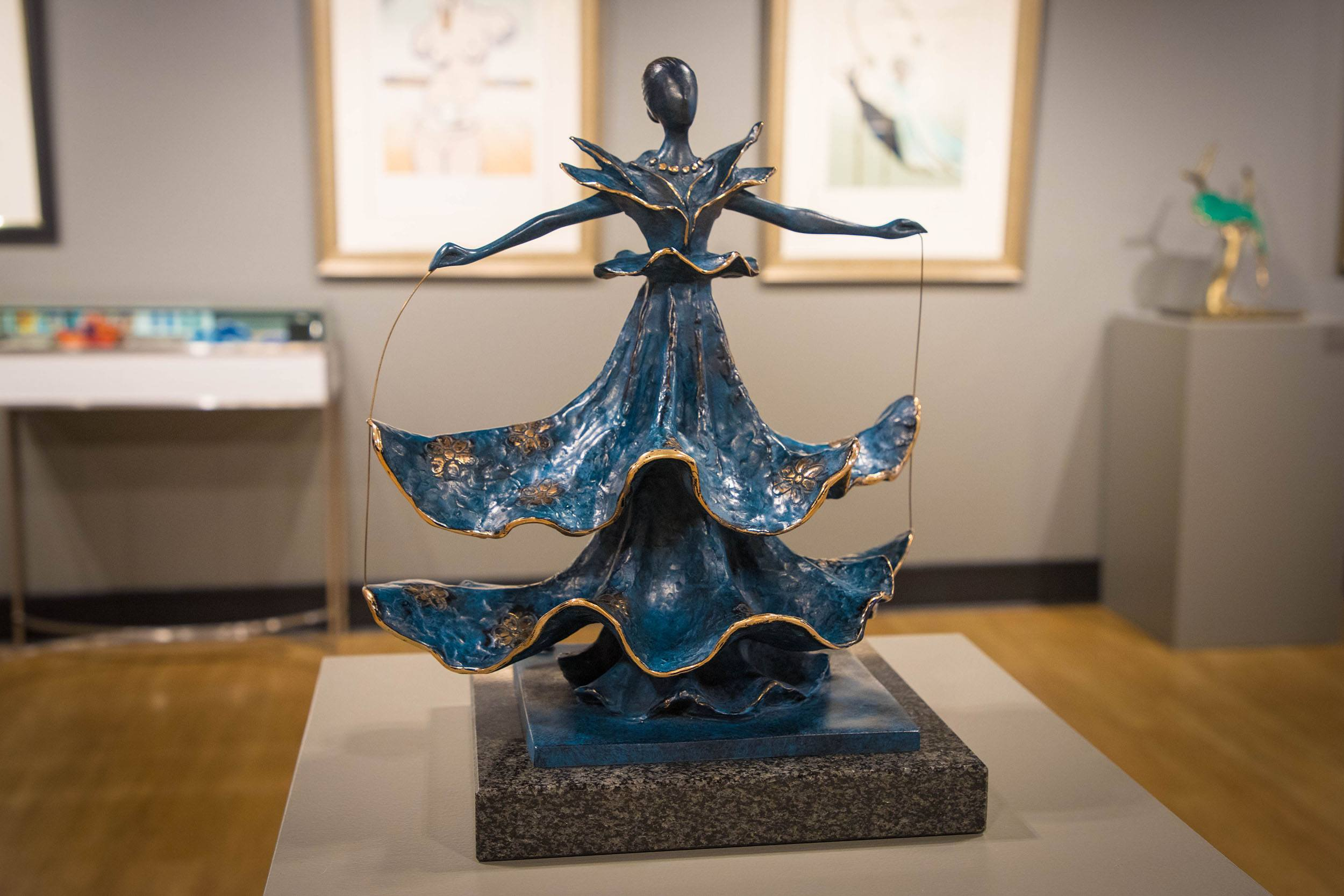 Dalinian Dancer sculpture by Salvador Dalí (Jenni Sheppard/Daily Hive)