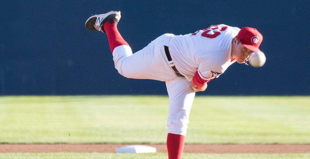 Vancouver canadians pitcher