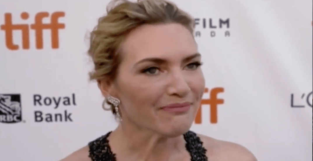 Kate Winslet really, REALLY likes Deep Cove's Honey's Doughnuts (VIDEO)