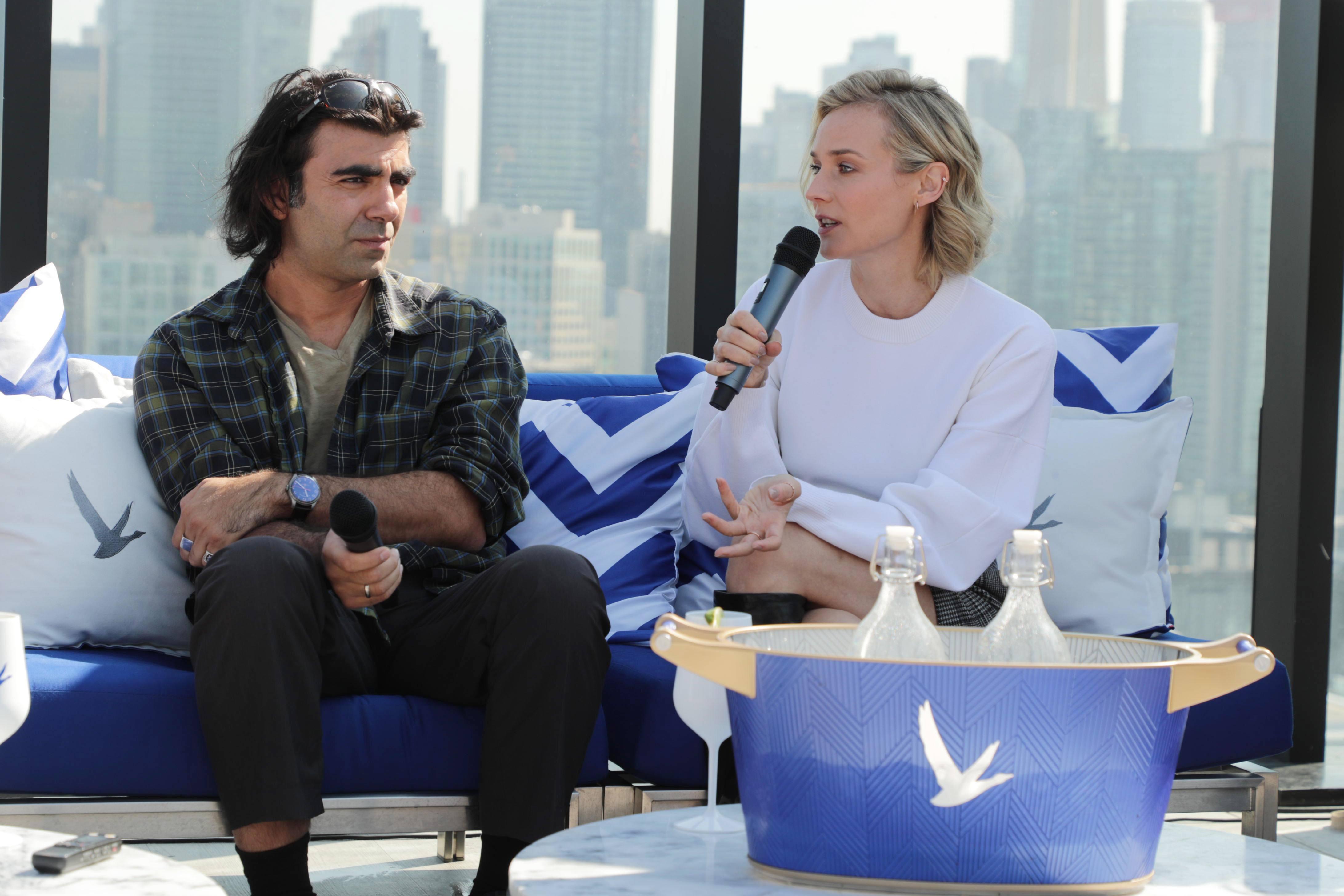 TIFF 2017 Celebrities Fatih Akin, Writer/Director/Producer, and Diane Kruger