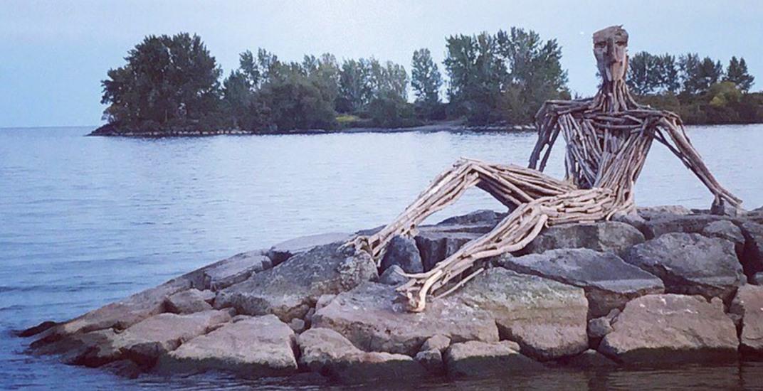 A giant new driftwood sculpture has appeared at Humber Bay Park (PHOTOS)