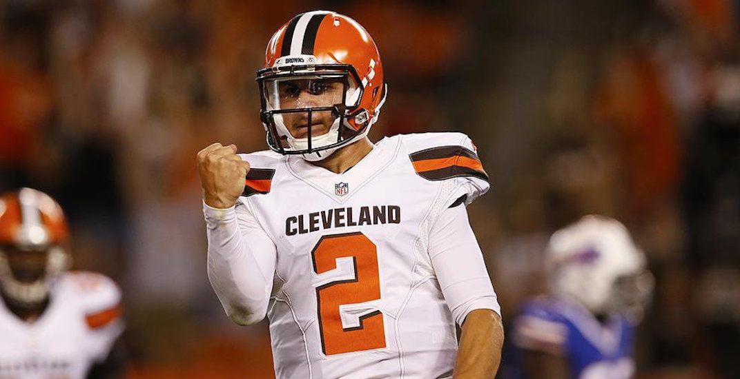 Johnny Manziel signs contract to play in Canadian Football League
