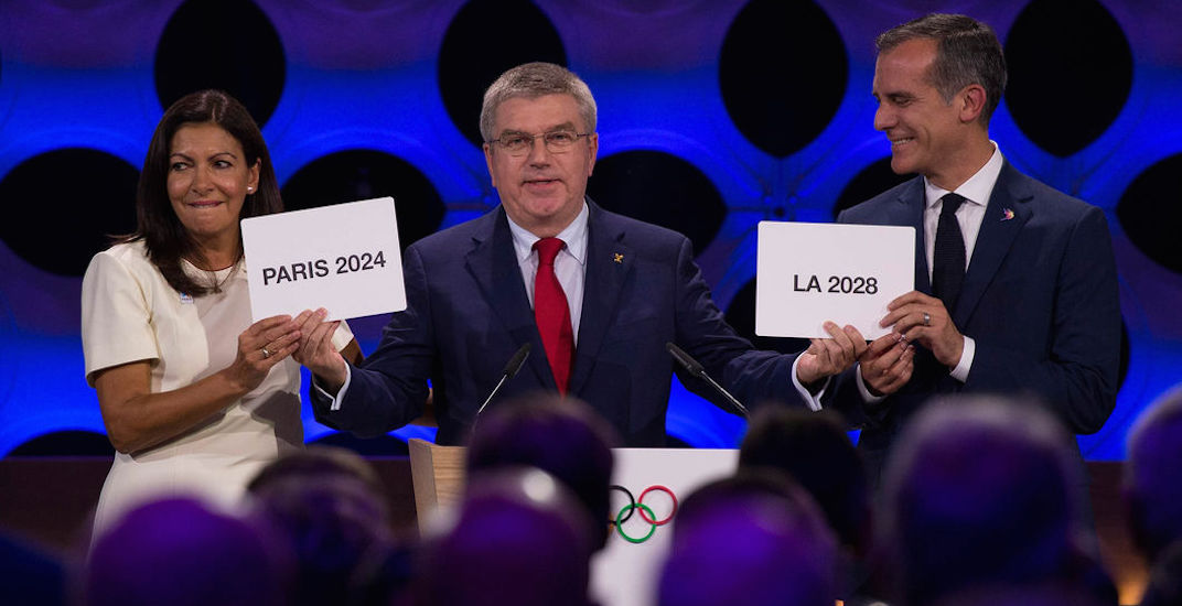 Paris for 2024, Los Angeles for 2028