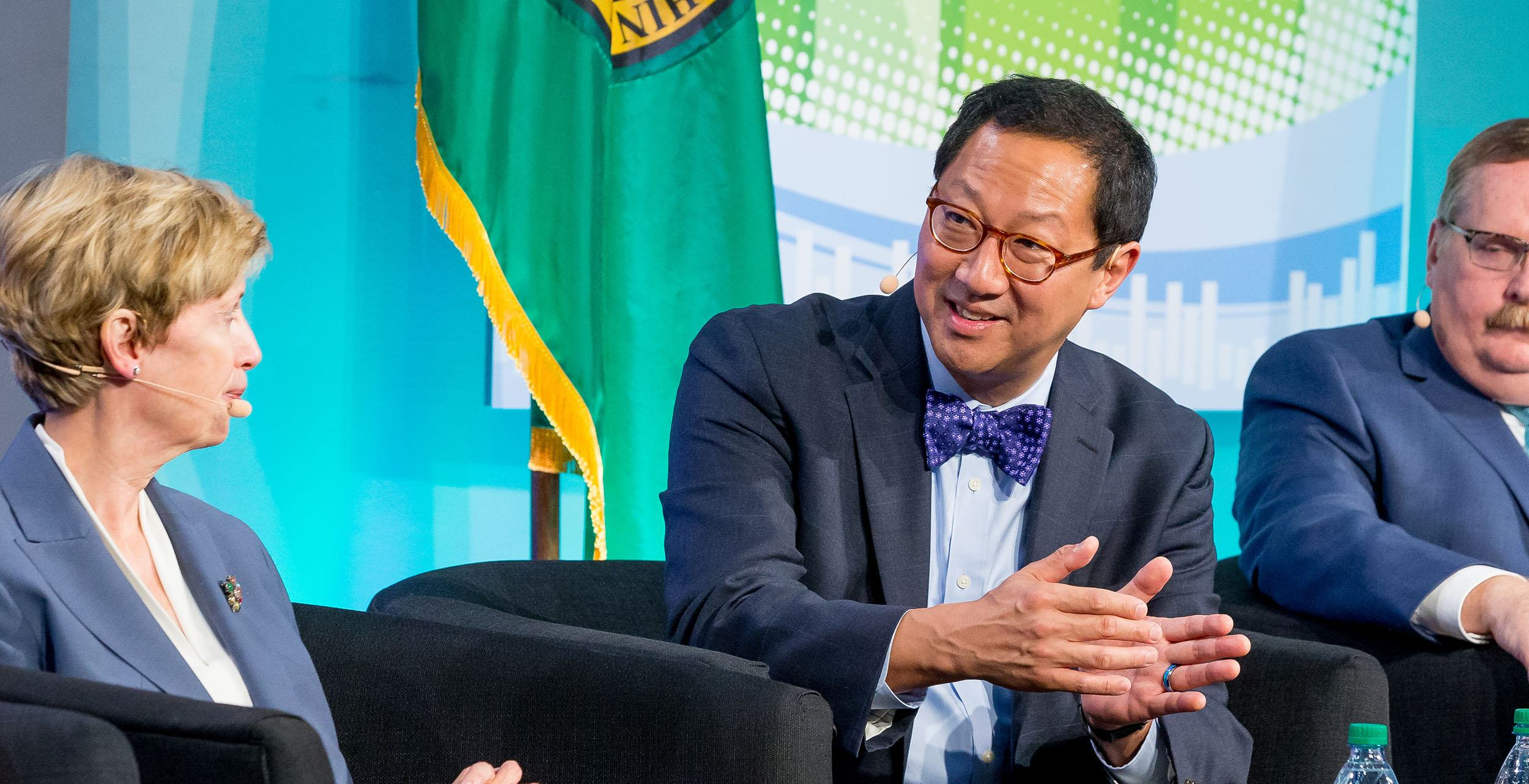 Santa Ono, President, University of British Columbia participates in a panel on Research and Higher Education – Helping Innovation Flourish, at the 2017 Cascadia Innovation Corridor Conference (We Worldwide)