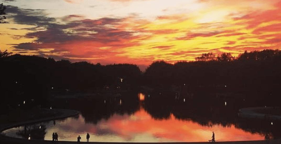 15 stunning shots of last night's fiery Montreal sunset (PHOTOS)