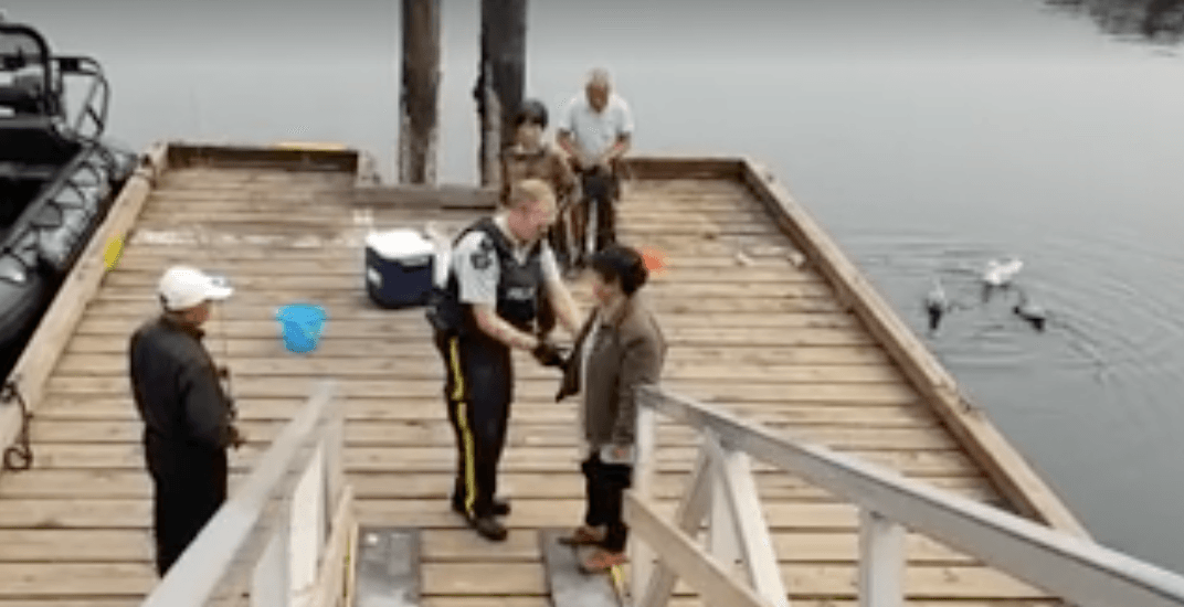 Pair accused of ripping claws off live crabs at White Rock pier (VIDEO)