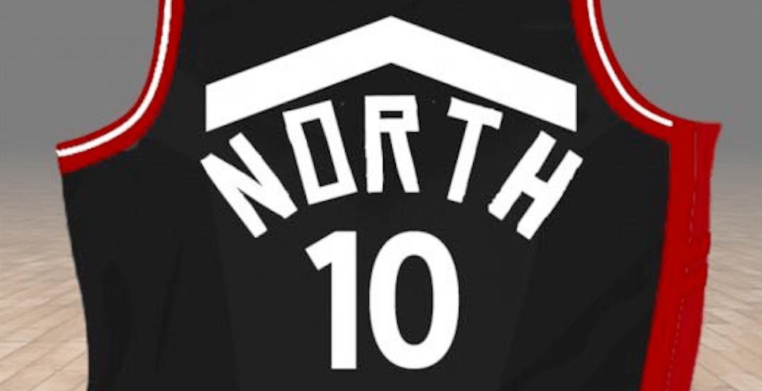 Raptors north jersey